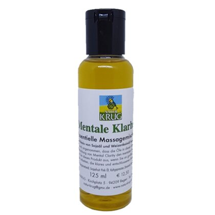 Mentale Karheit Essentielle Massagemischungen 125ml